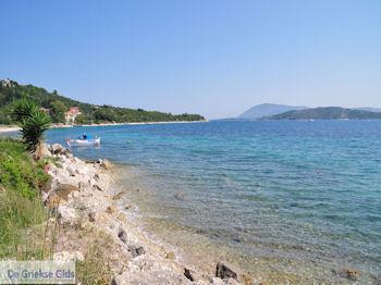 Het kustplaatsje Lygia (Ligia) - Lefkas (Lefkada) - Foto van De Griekse Gids